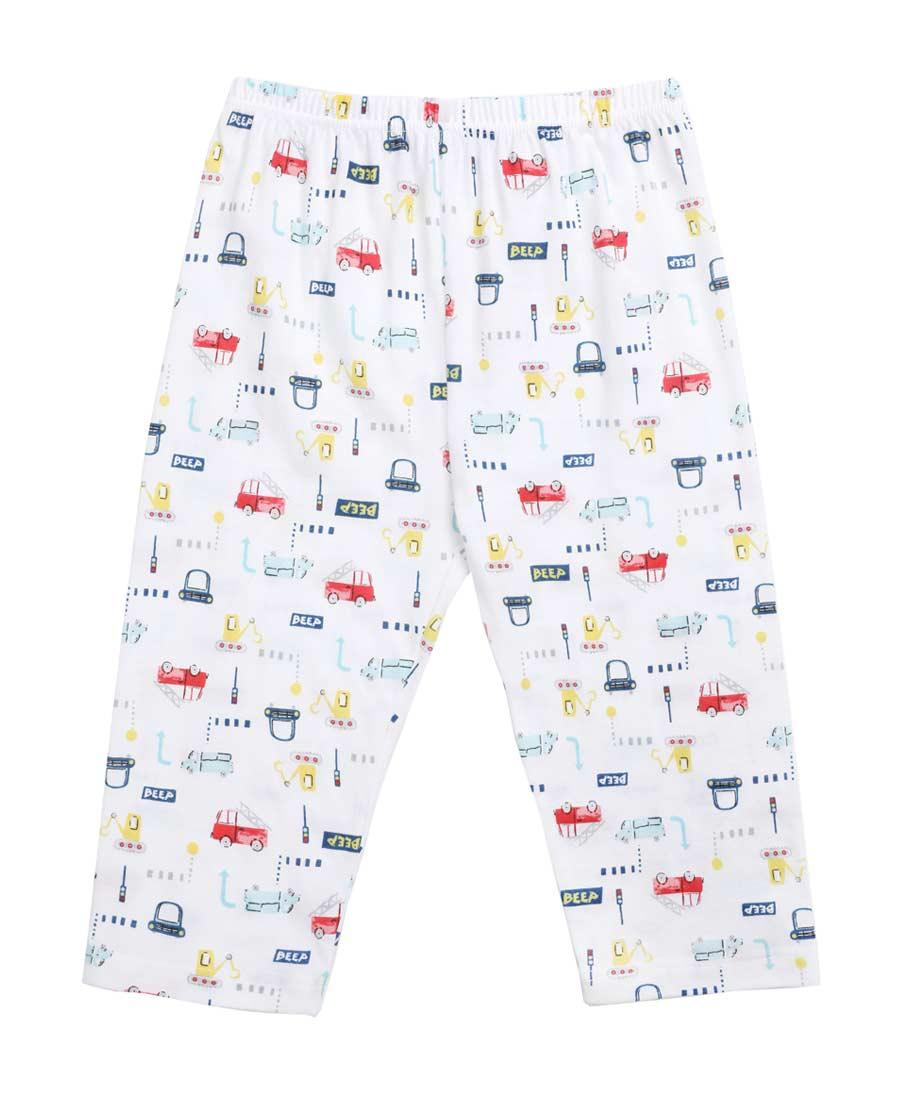 Aimer Baby睡衣|爱慕婴儿迷你小车七分裤AB242V92
