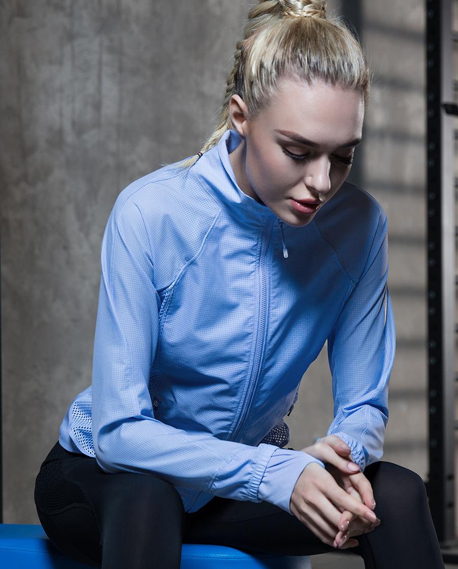 Aimer Sports运动装|ag真人平台运动畅跑立领拉链外套AS144D31