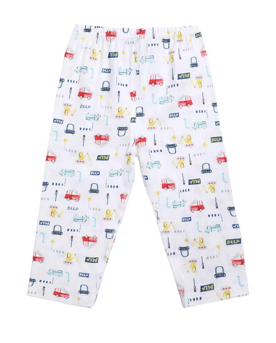 Aimer Baby睡衣|爱慕婴儿迷你小车两用裆长裤AB273V9