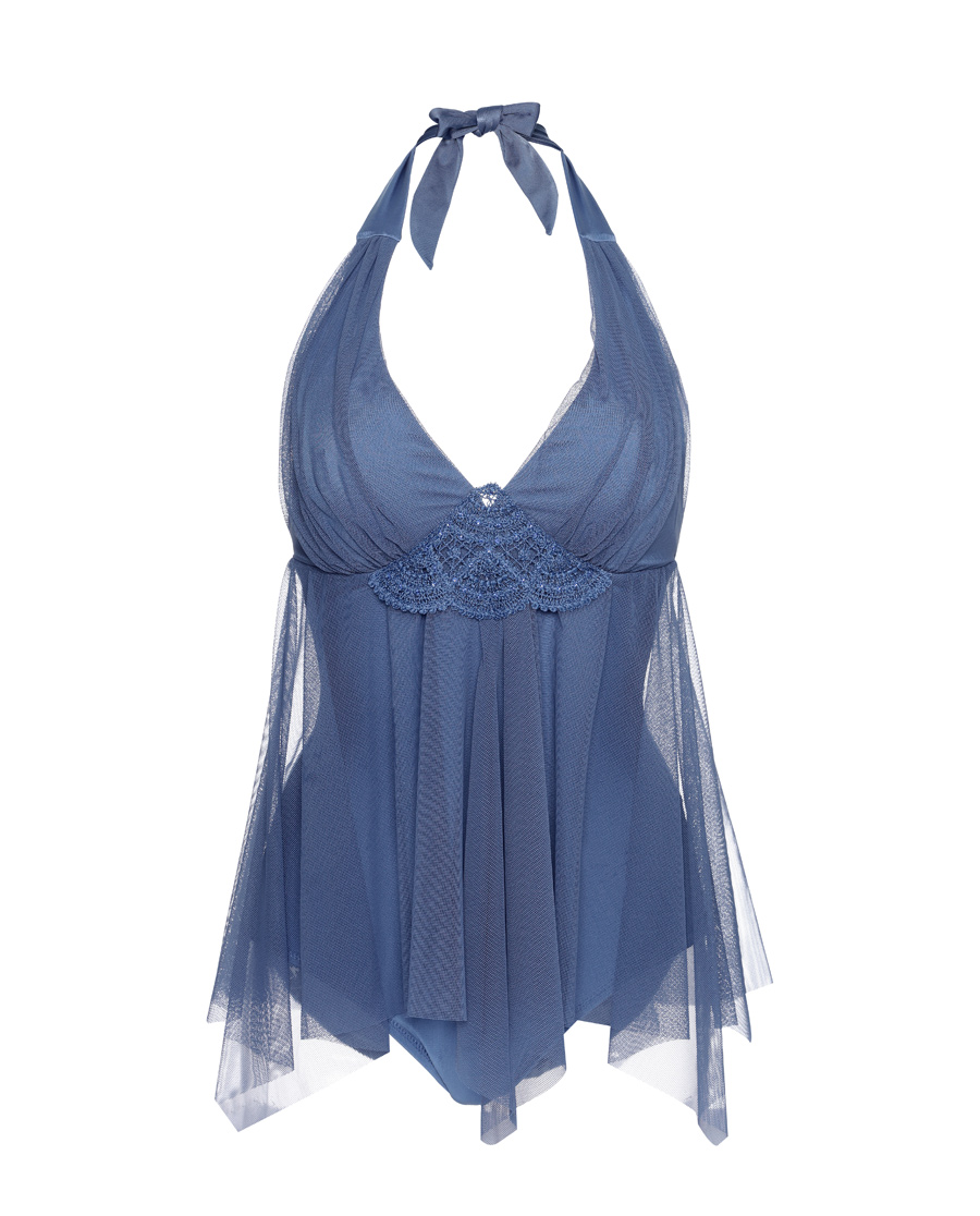 Aimer泳衣|爱慕浪漫假期裙式连体泳衣AM681611