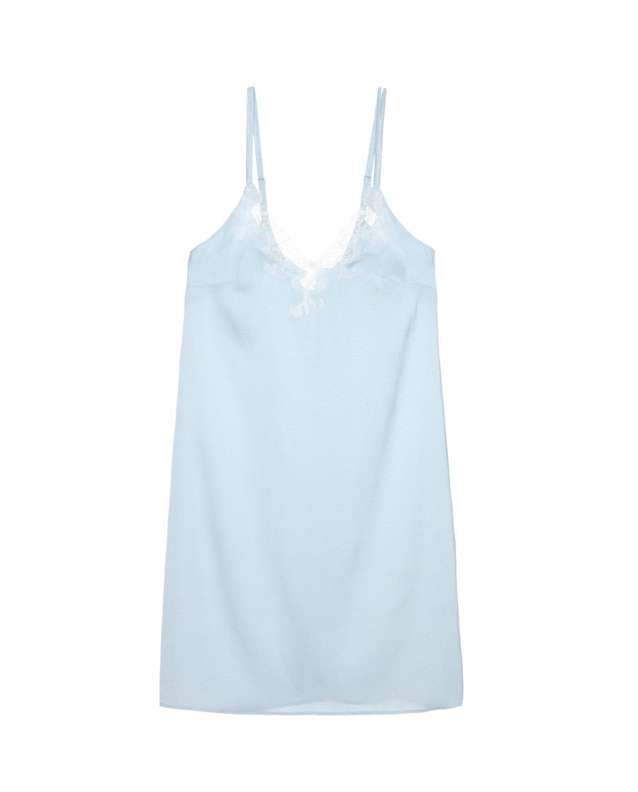 Aimer睡衣|爱慕点动心情中长睡裙AM441691