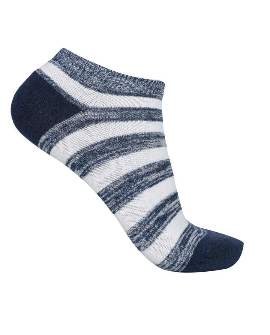 Aimer Men袜子 ag真人平台先生新品条纹船袜NS94W032