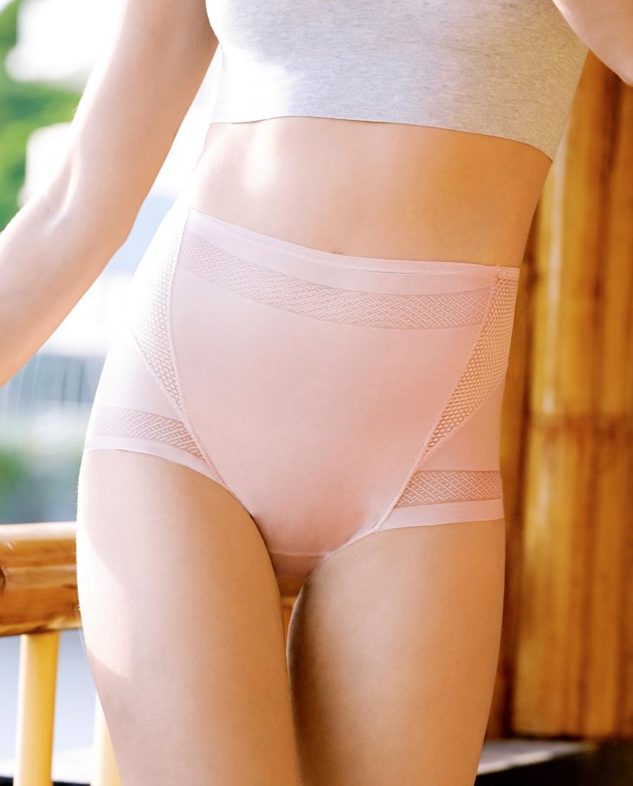 MODELAB美体|爱慕慕澜18SS塑裤群轻型高腰短腿塑裤AD33C54