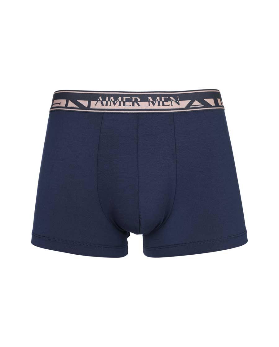 Aimer Men内裤|爱慕先生18SS单品莫代尔中腰平角内裤N