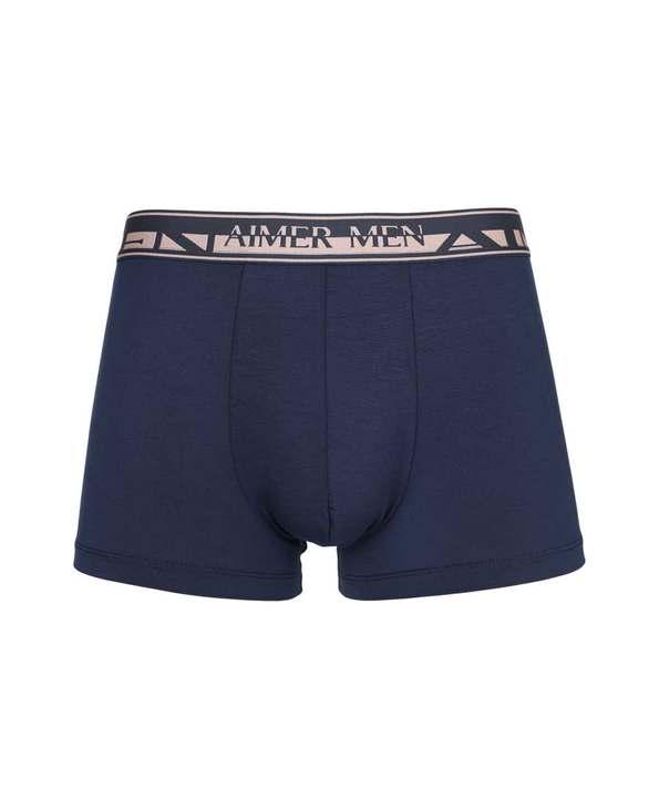 Aimer Men内裤|爱慕先生新品素雅舒适莫代尔中腰平角内裤NS23A972