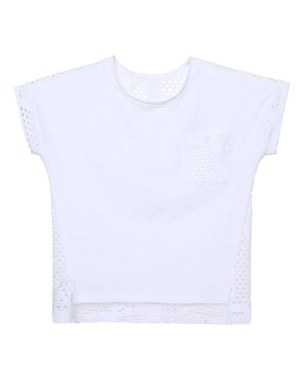 Aimer Kids睡衣|爱慕儿童复古派套头短袖上衣AK181X41
