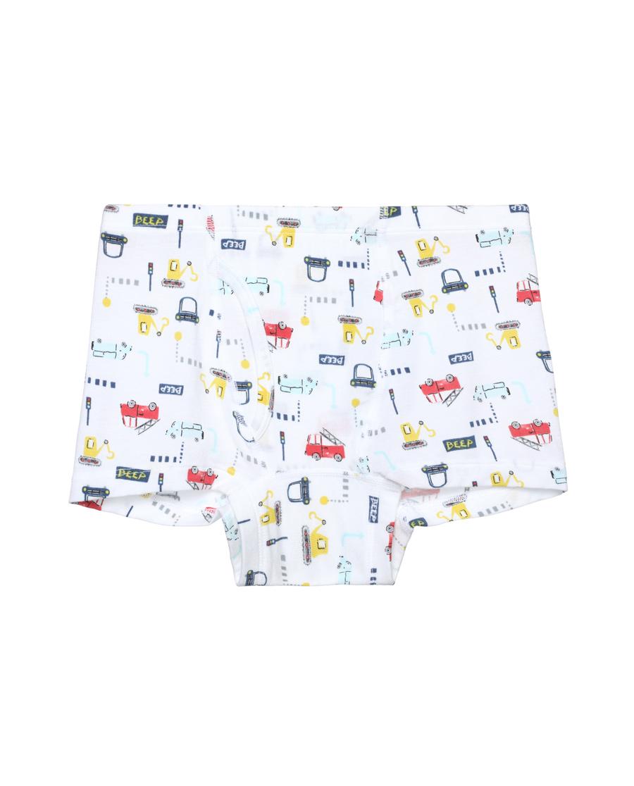 Aimer Kids内裤|爱慕儿童小车BEEP中腰平角内裤AK22