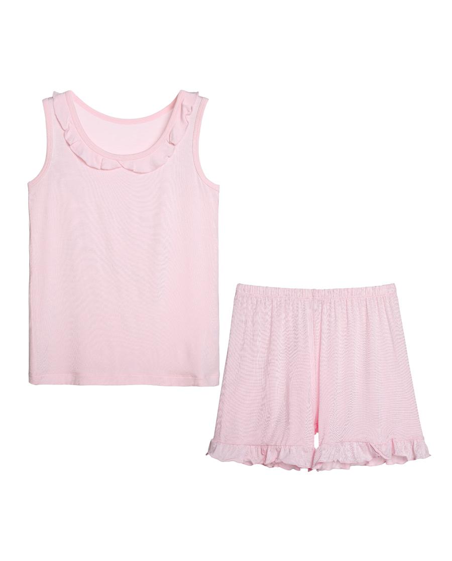 Aimer Kids睡衣|爱慕儿童天使家居modal背心家居套装AK143Y91