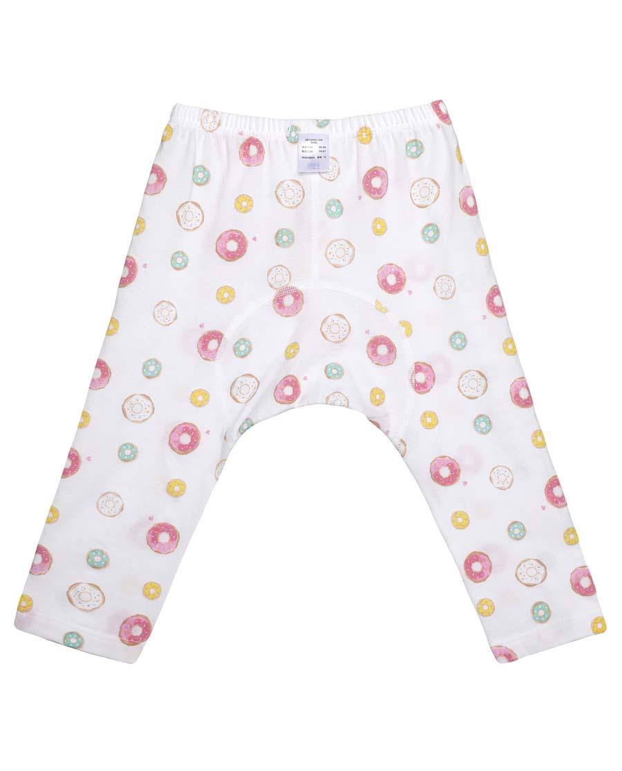 Aimer Baby睡衣|爱慕婴儿honey甜甜圈七分大屁屁裤AB