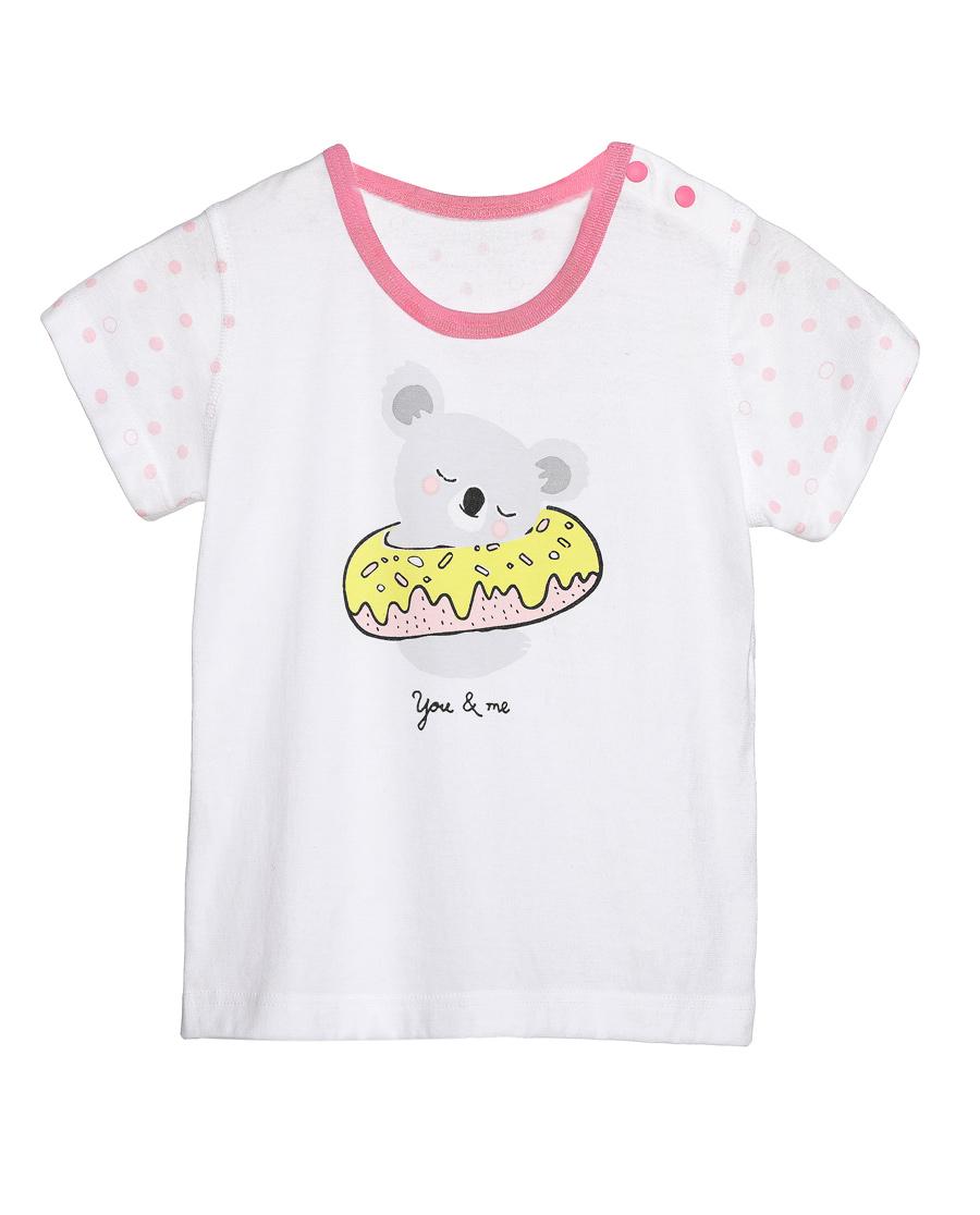 Aimer Baby睡衣|爱慕婴儿honey甜甜圈短袖家居上衣AB
