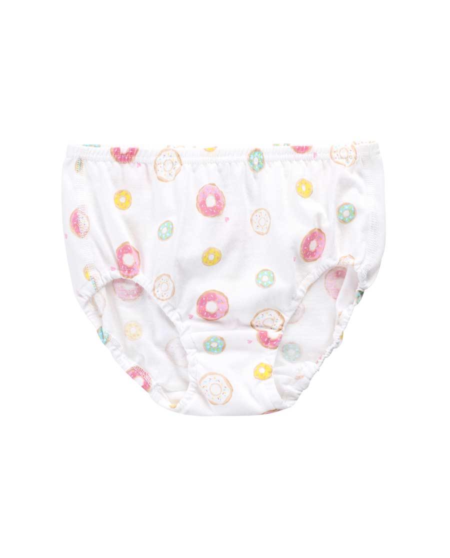 Aimer Kids内裤|爱慕儿童honey甜甜圈中腰三角面包内裤