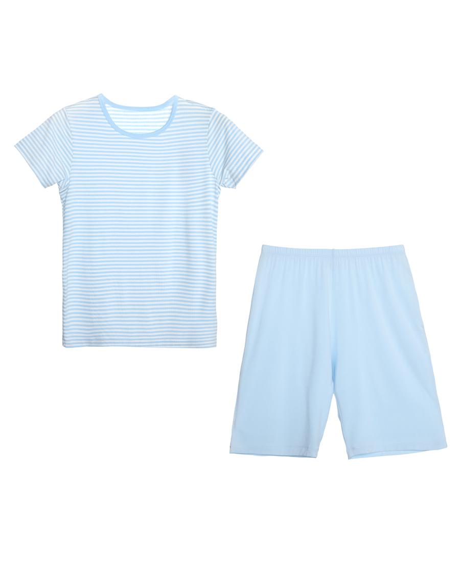 Aimer Kids睡衣|爱慕儿童天使家居modal短袖家居套装AK243Y91