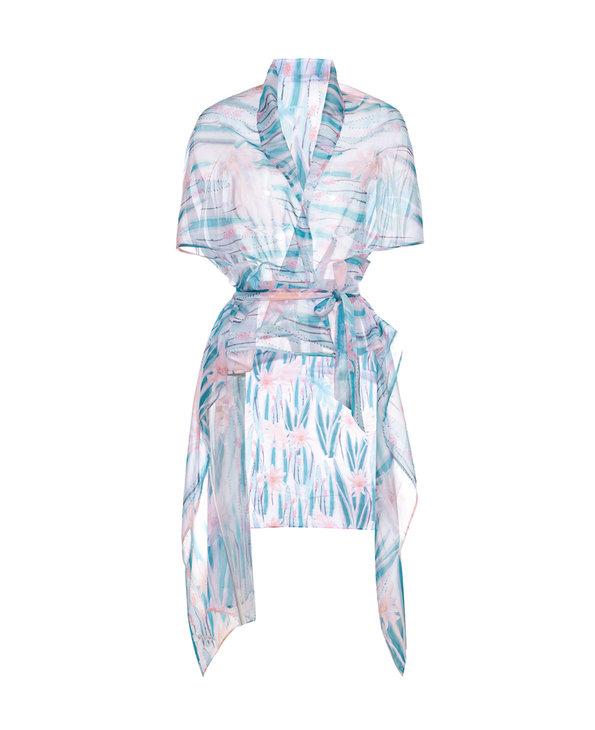 La Clover泳衣|LA CLOVER莓粉mojito沙滩巾LC60FG1