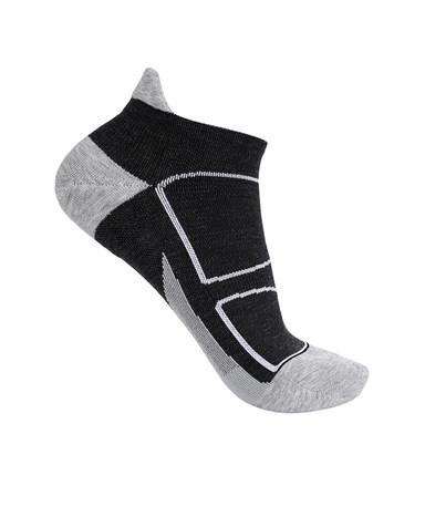 Aimer Men袜子|爱慕先生新品酷黑运动袜NS94W052