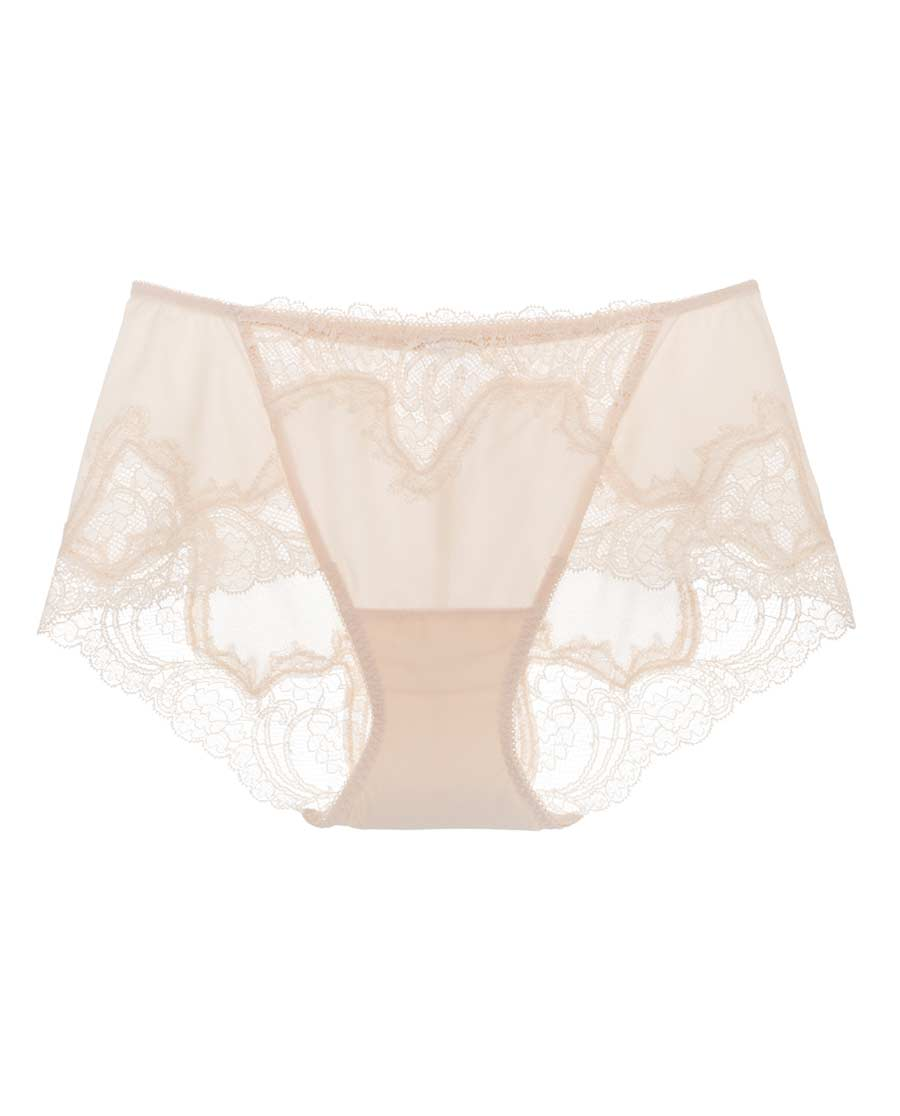 La Clover内裤|LA CLOVER白色恋人中腰平角内裤L
