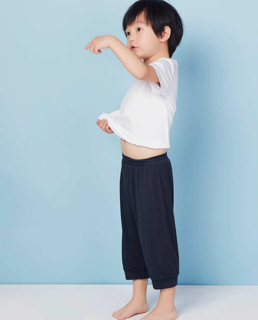 Aimer Kids睡衣|爱慕儿童酷爽网眼男童七分裤AK282F31