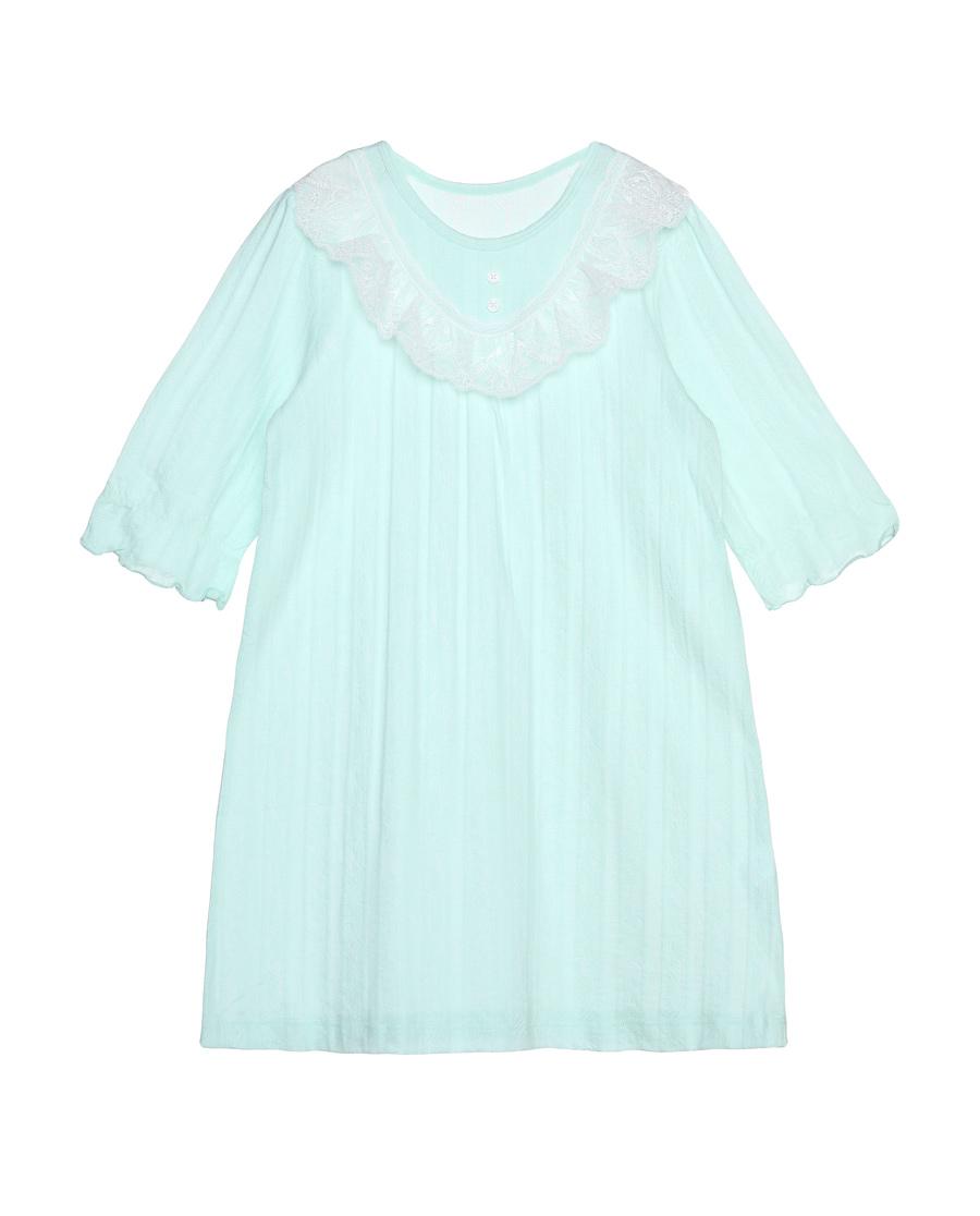 Aimer Kids睡衣|爱慕儿童花枝密语短袖中款家居睡裙AK14