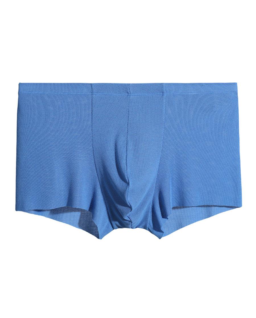 Aimer Men内裤|爱慕先生网眼无痕中腰平角内裤NS23A0