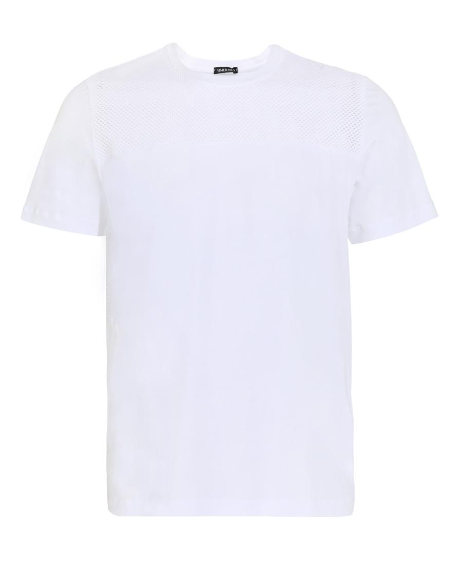 Aimer Men睡衣|爱慕先生新品度假系列圆领网眼短袖上衣NS
