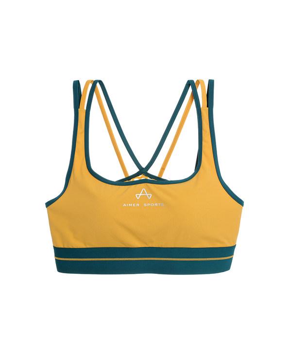 Aimer Sports文胸|爱慕运动Youth 瑜伽背心式薄模杯文胸AS116D41