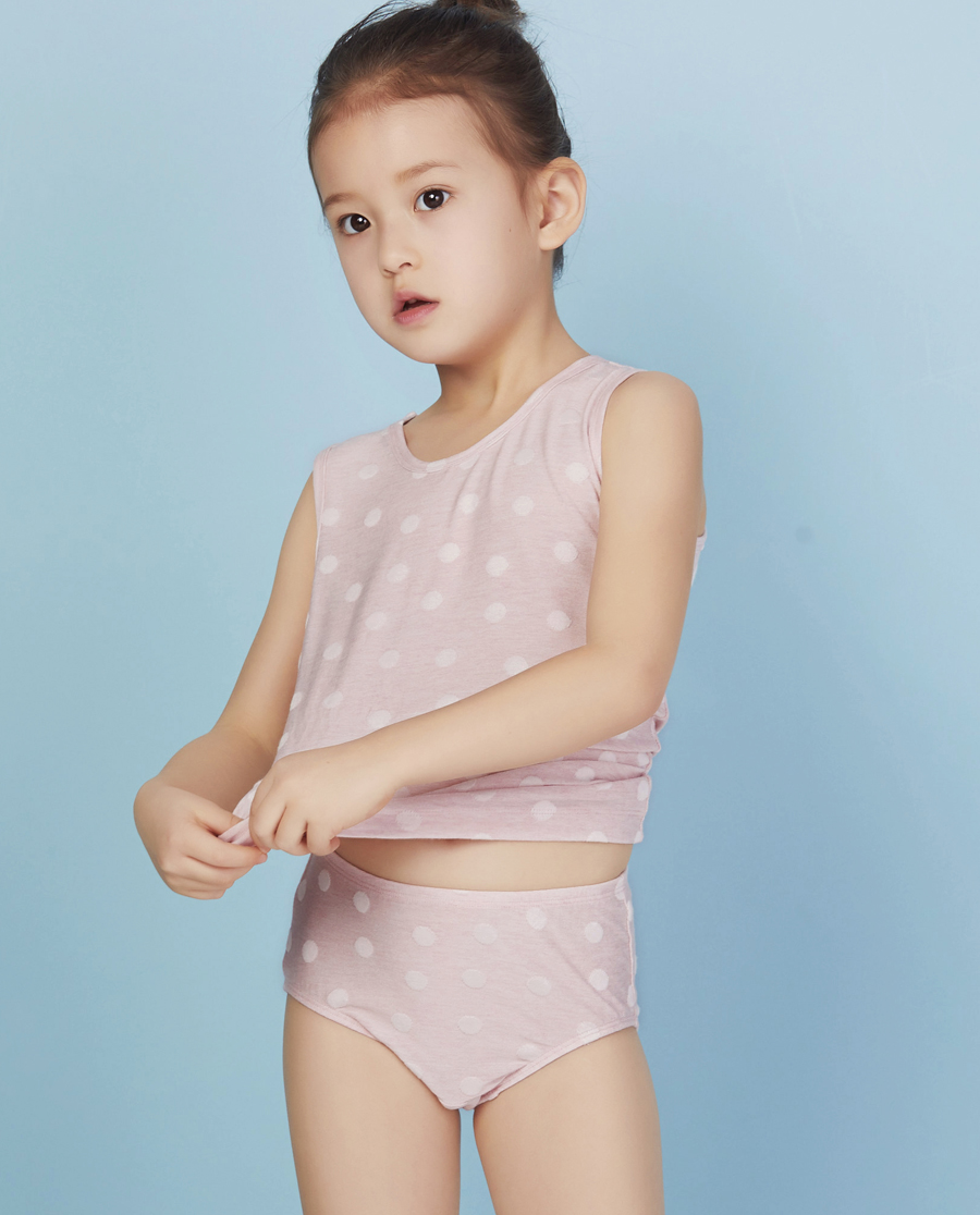 Aimer Kids内裤|爱慕儿童可爱宝贝中腰三角内裤AK122W71