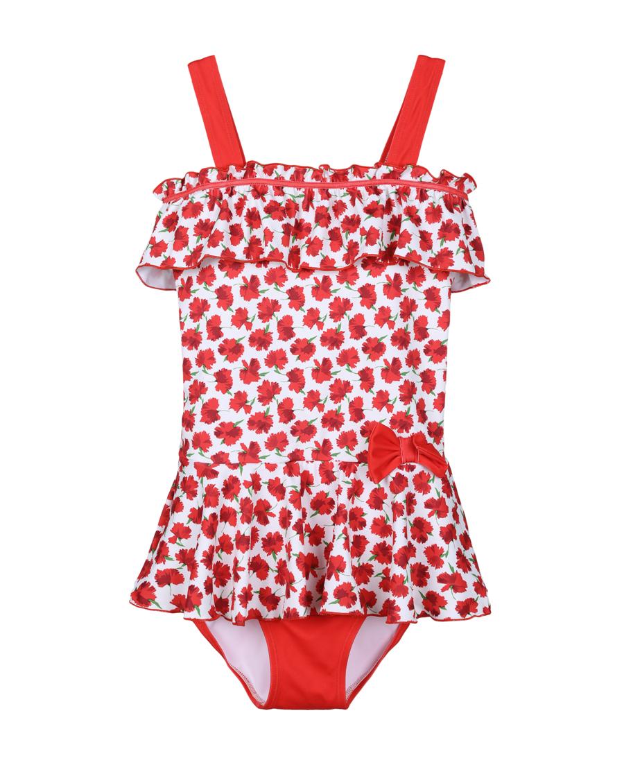 Aimer Kids泳衣|爱慕儿童花语盛夏连体泳衣AK167X81