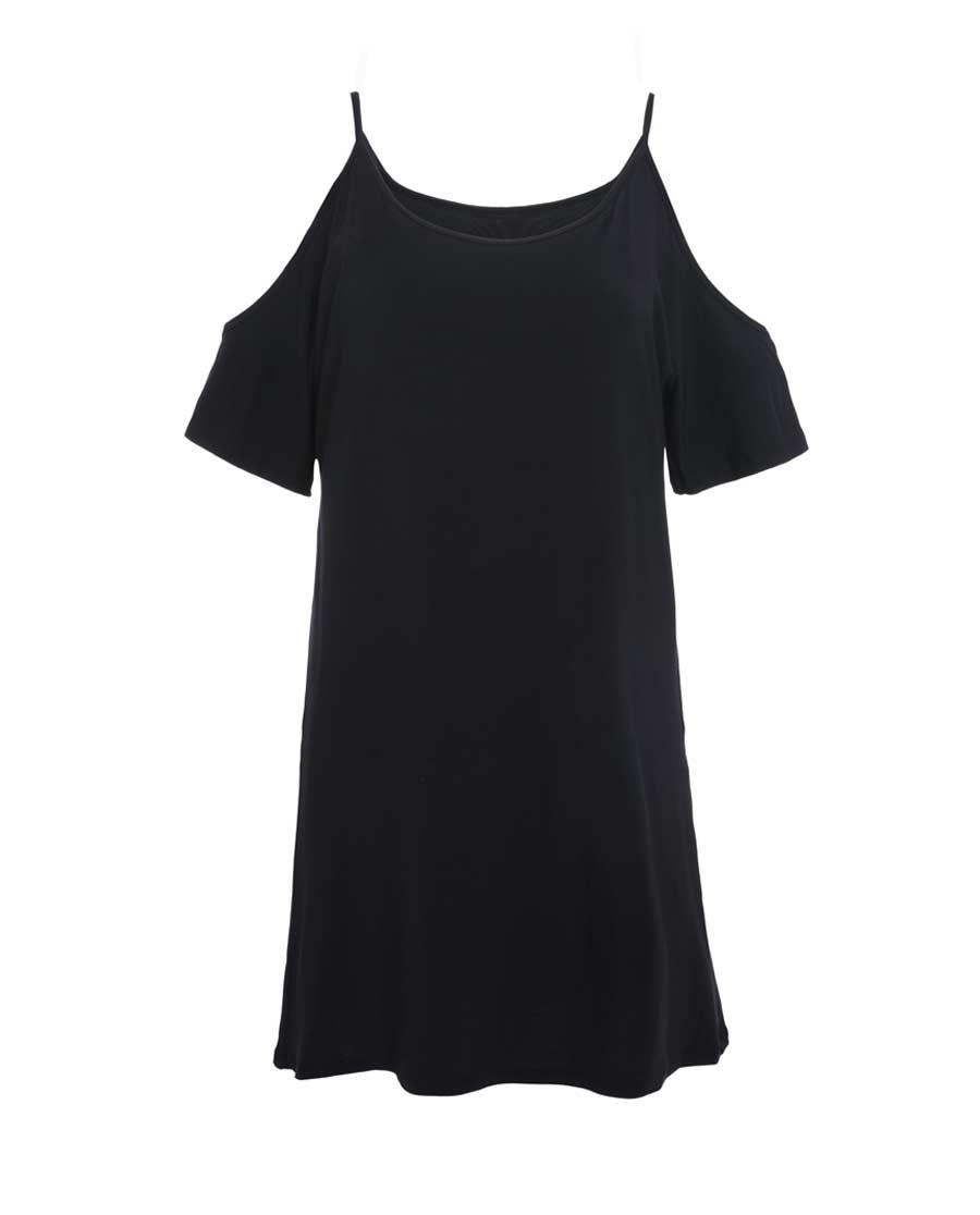 Shine Love睡衣|心爱夕夏温存带杯短款美肩裙SL44J51