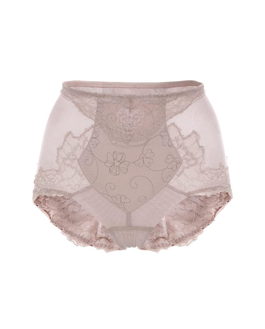 MODELAB美体|爱慕慕澜棉香中型高腰平角塑裤AD3396