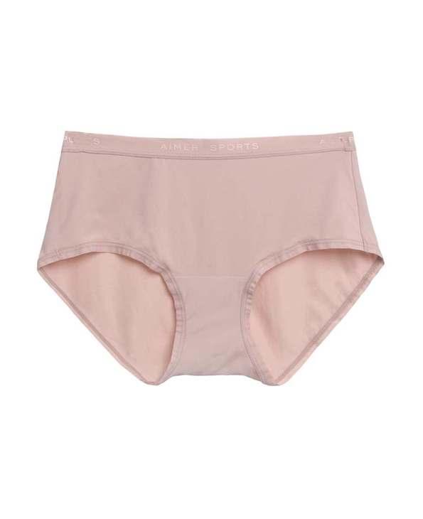 Aimer Sports内裤|爱慕运动Easy wear中腰平角内裤AS123D61