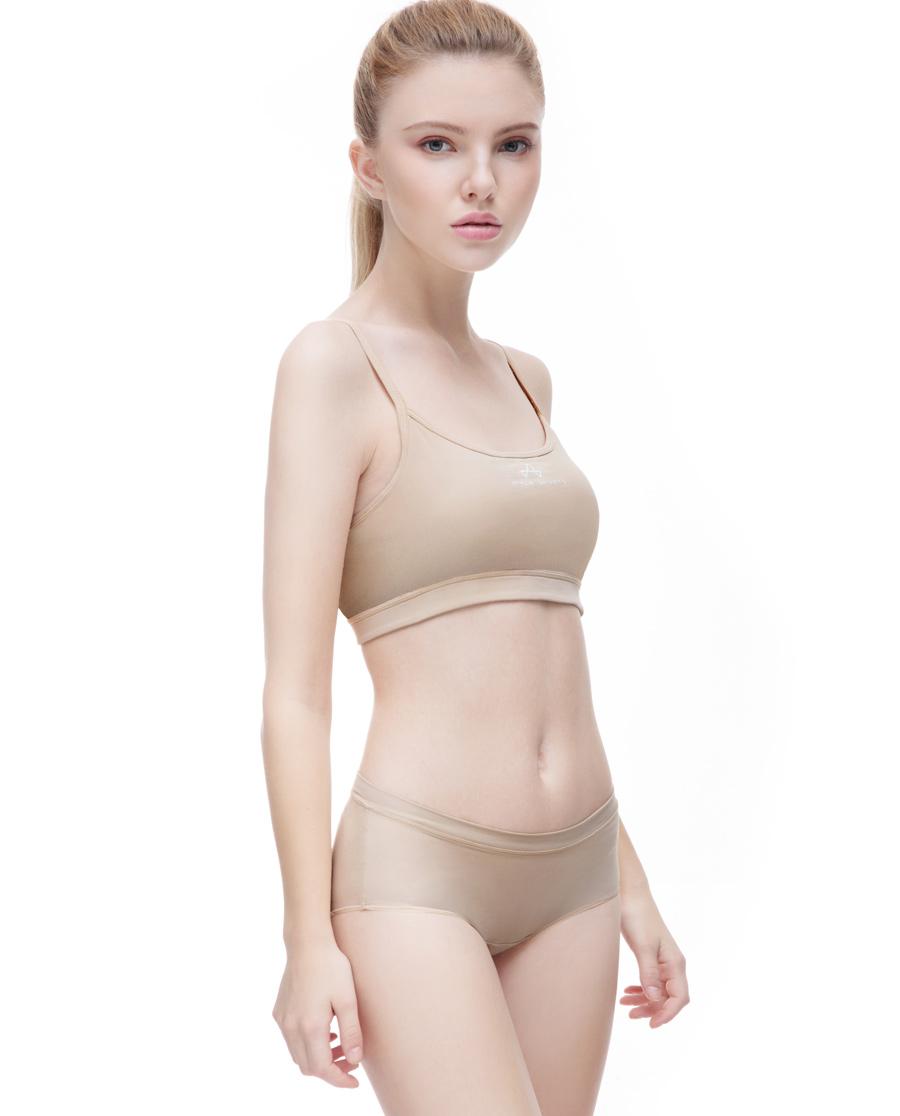 Aimer Sports内裤|ag真人平台运动Youth 瑜伽中腰平角内裤AS123D41