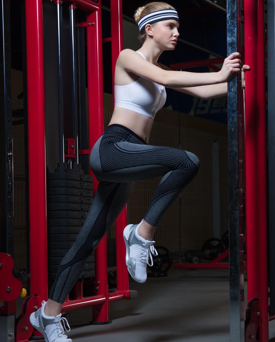 Aimer Sports运动装 爱慕运动ALL IN跑步长裤AS153C91