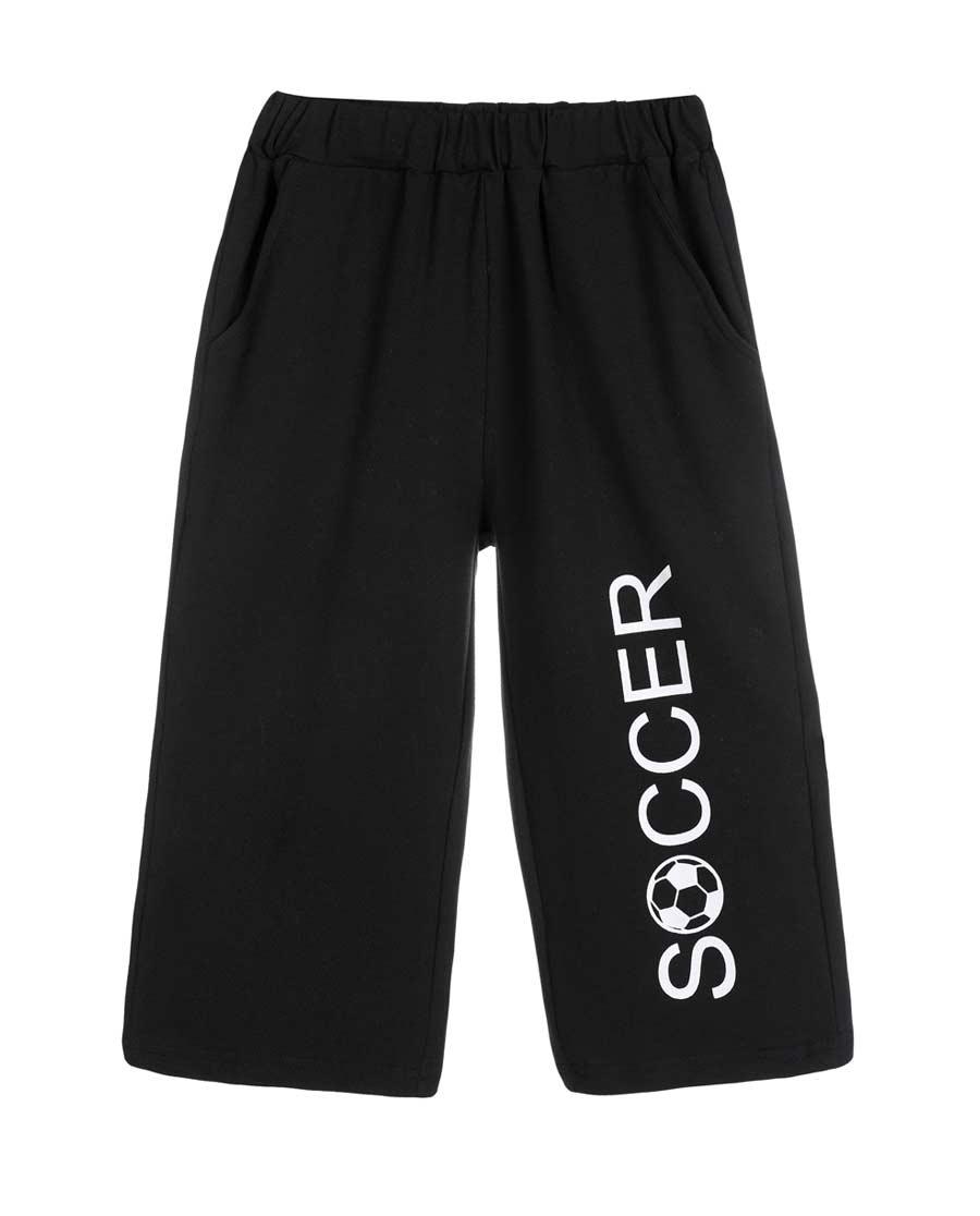 Aimer Kids睡衣|爱慕儿童世界杯素色外穿七分裤AK282X