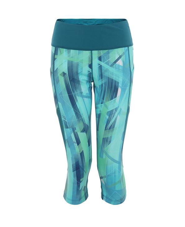 Aimer Sports运动装|爱慕运动盛夏晨跑印花七分裤AS152D71