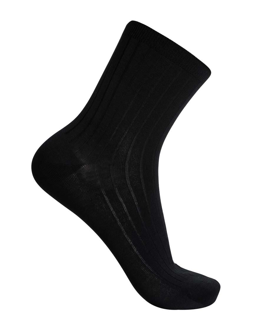 Aimer Men袜子|爱慕先生抽条丝光棉麻短袜NS94W045