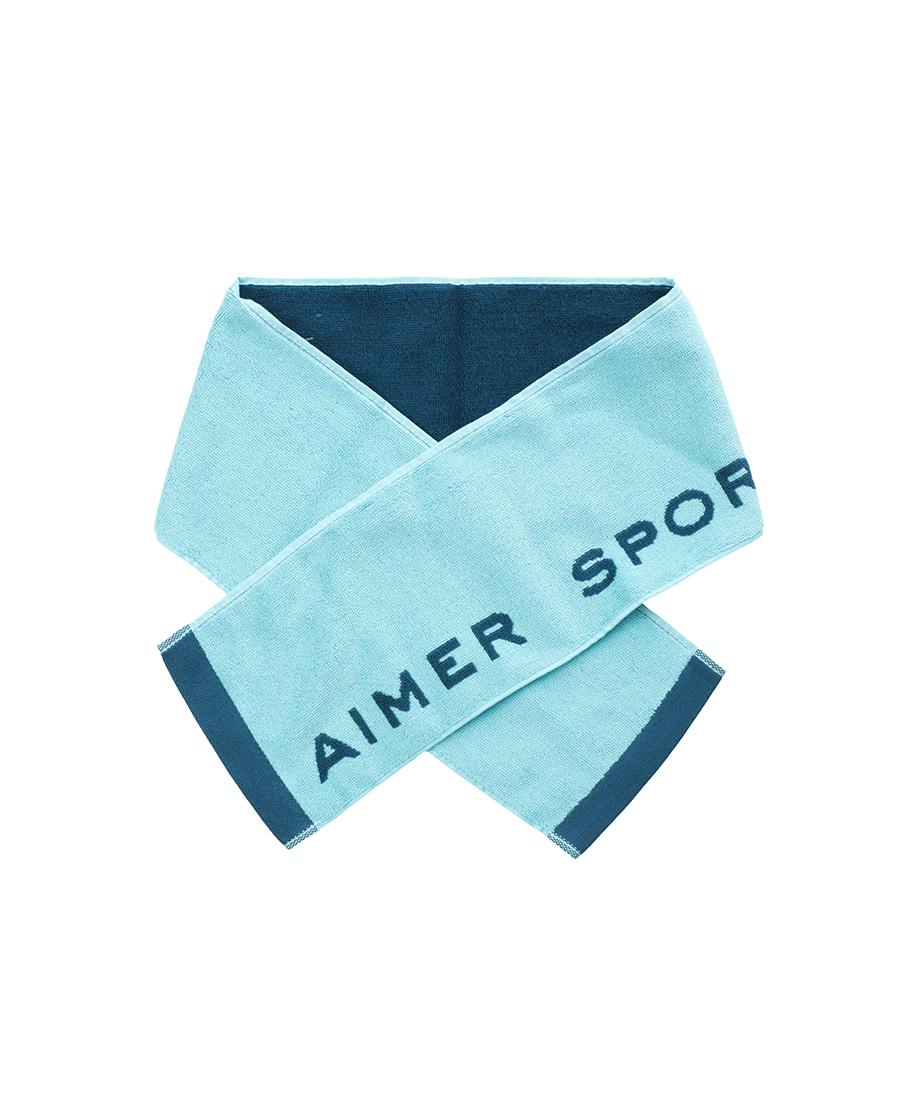 Aimer Sports配饰|ag真人平台运动盛夏晨跑毛巾AS198029