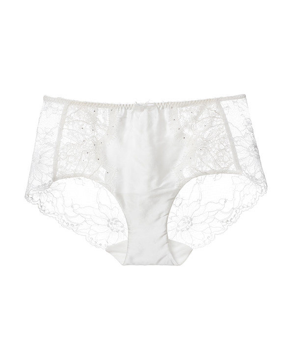 La Clover内裤|LA CLOVER挚爱white系列中腰平角内裤LC23FR1