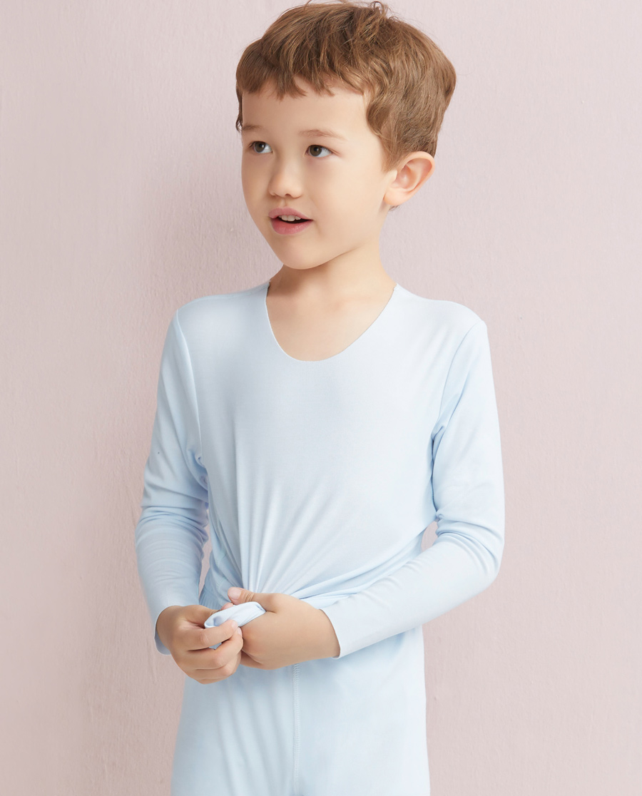 Aimer Kids保暖 爱慕儿童MODAL长袖上衣AK2720031