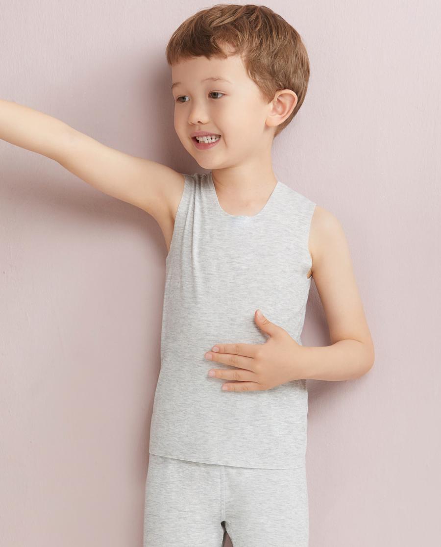 Aimer Kids睡衣 爱慕儿童MODAL宽肩背心AK2110031