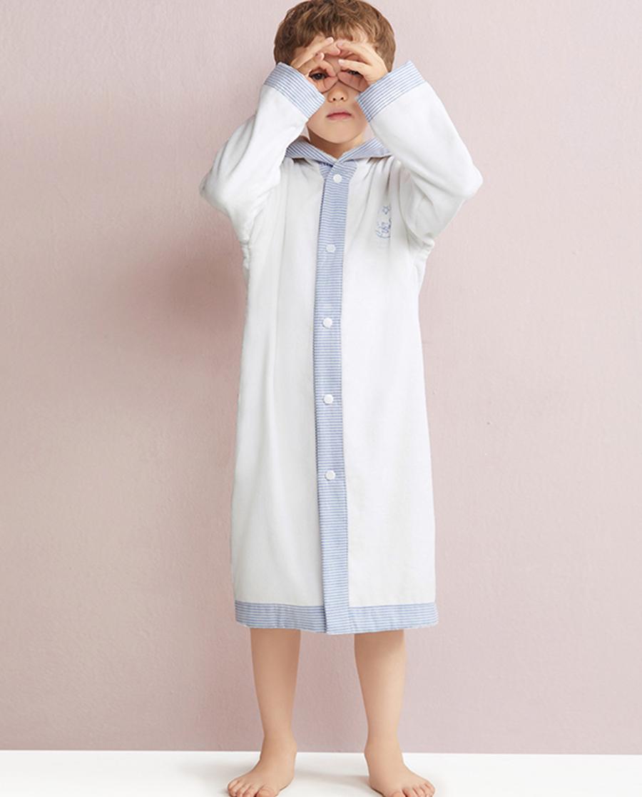 Aimer Kids睡衣|爱慕儿童连帽浴袍AK3440121