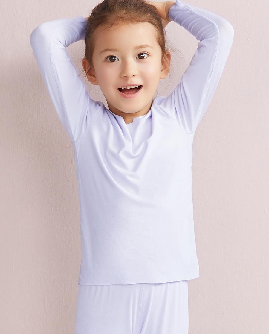 Aimer Kids保暖 爱慕儿童MODAL长袖上衣AK1720031