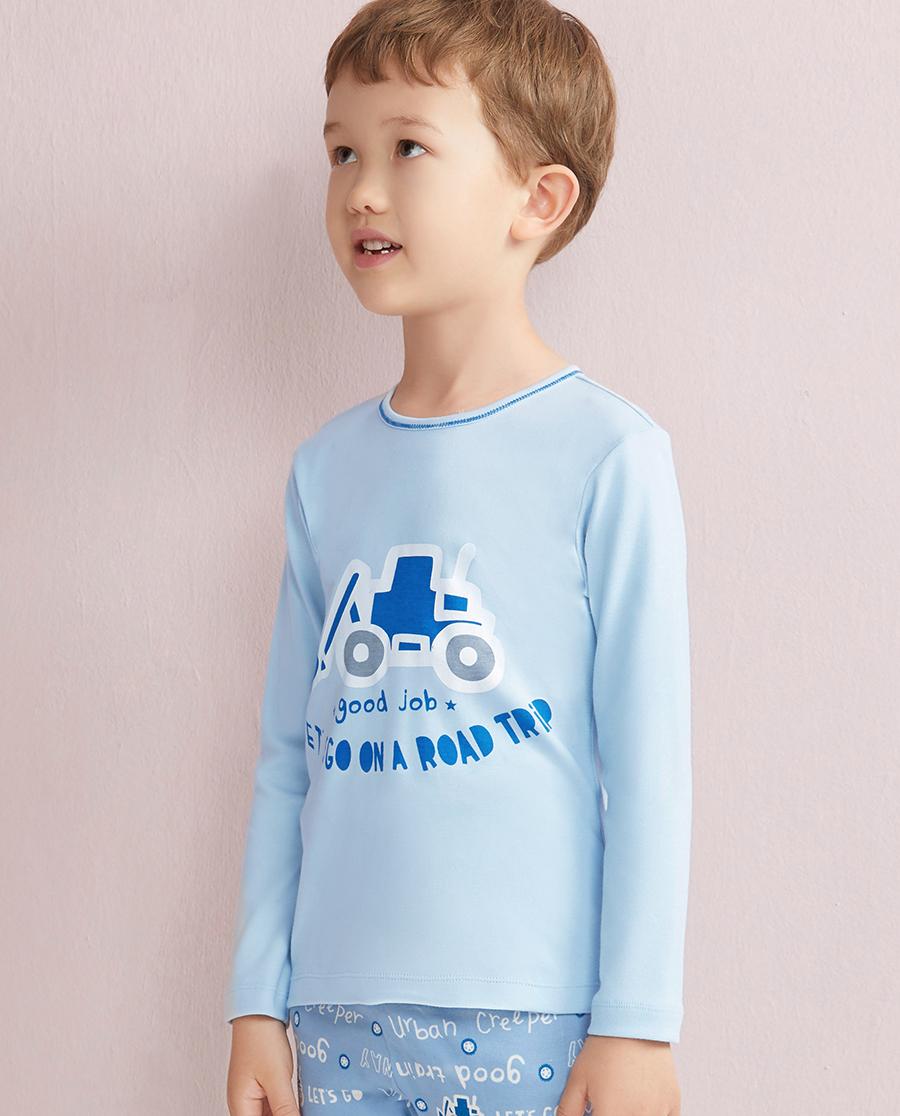 Aimer Kids保暖 爱慕儿童城市爬行者长袖上衣AK2720301