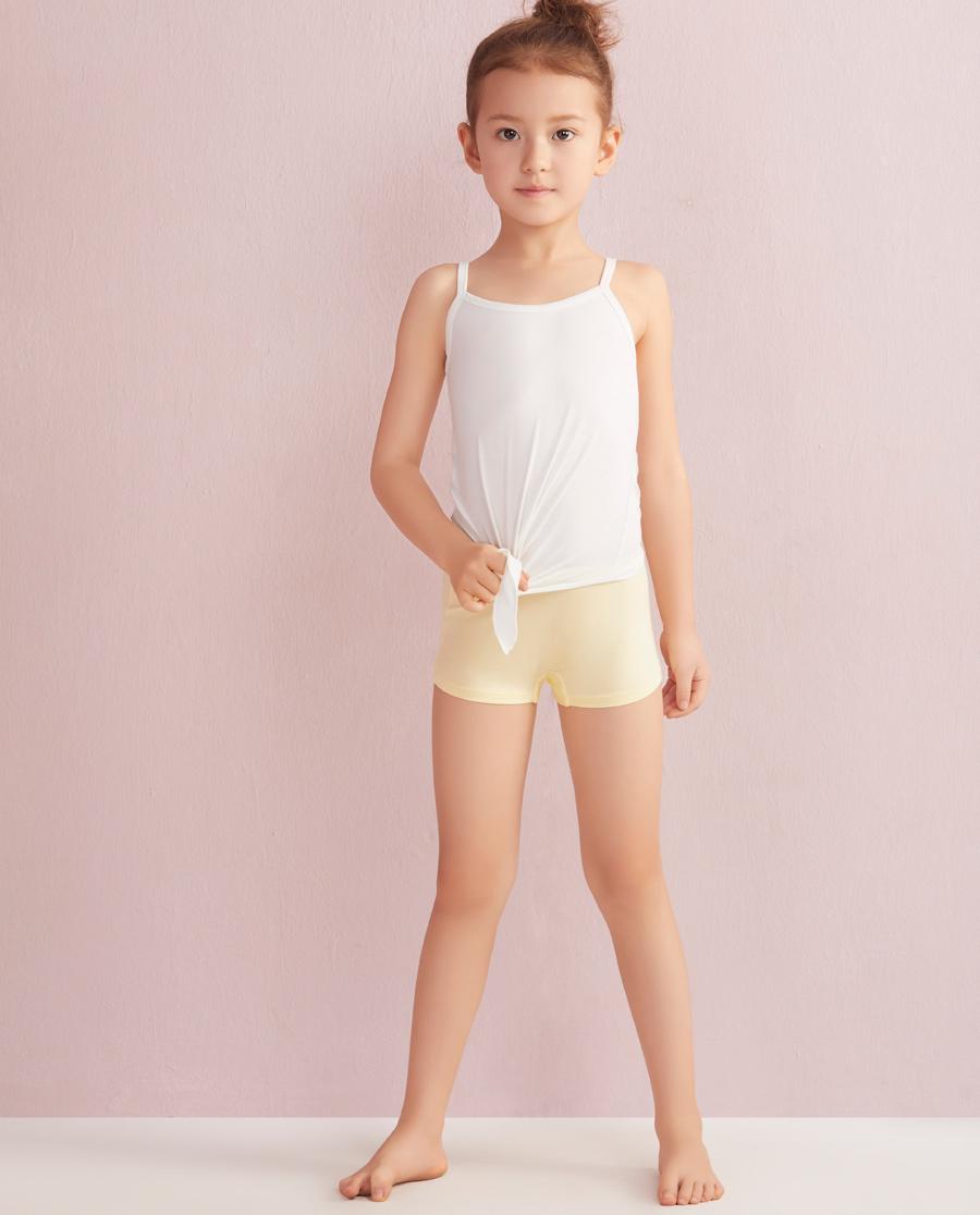 Aimer Kids内裤|爱慕儿童天使小裤MODAL印花水晶鞋中腰平角内裤AK1230045