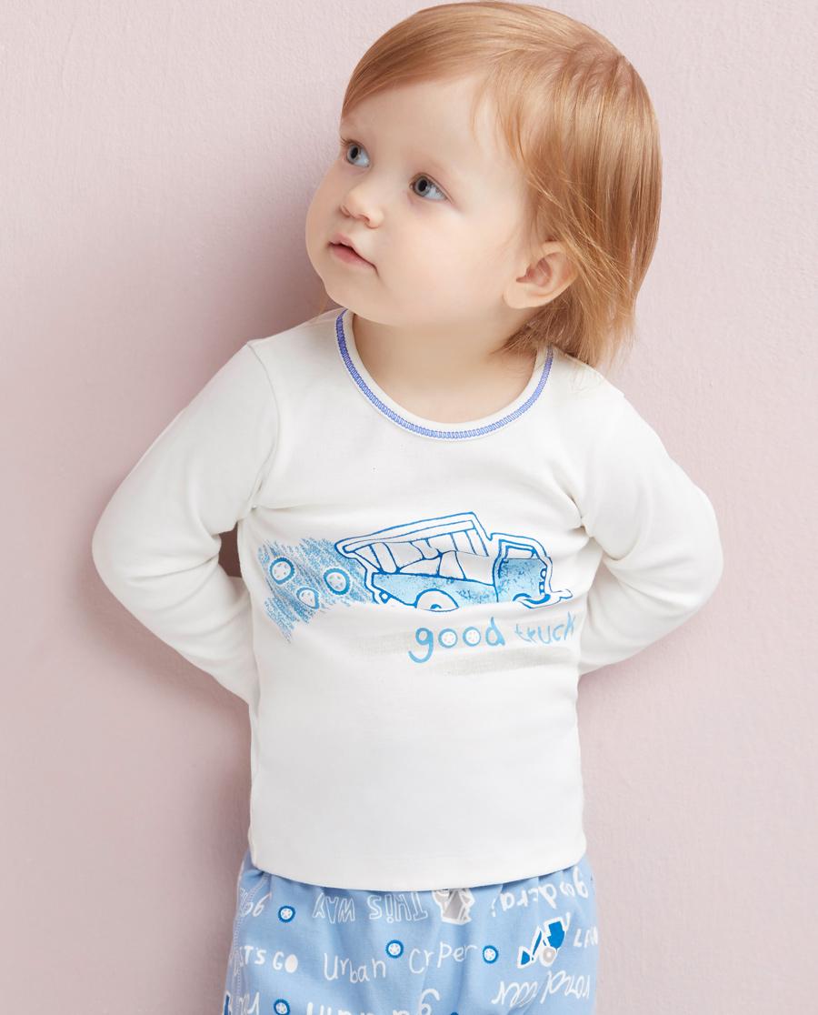 Aimer Baby睡衣 爱慕婴儿城市爬行者长袖上衣AB2720301