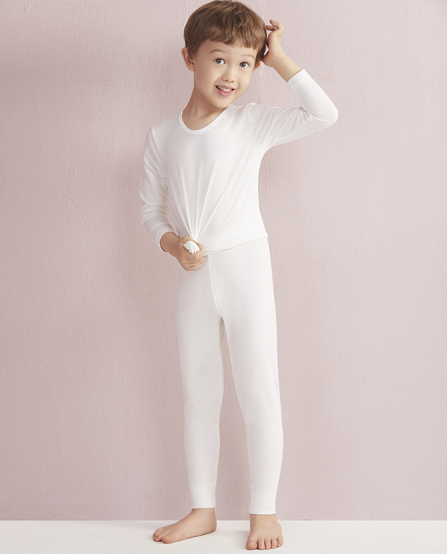 Aimer Kids保暖 爱慕儿童天使暖衣棉氨纶长裤AK3730271
