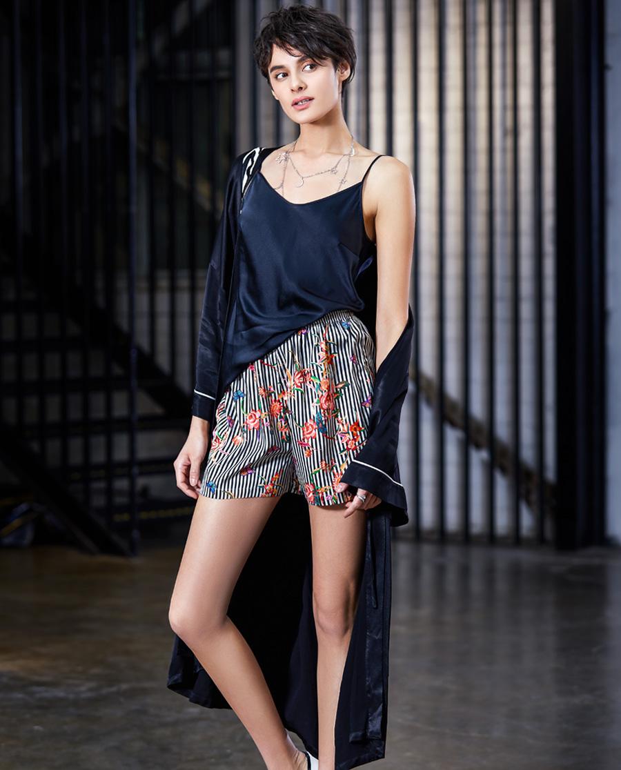 La Clover睡衣|LA CLOVER梅格庄园吊带家居套装LC43DK1
