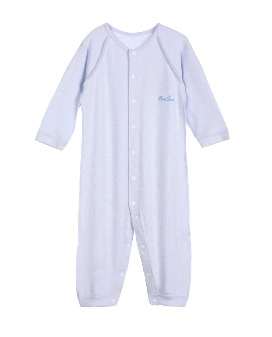 Aimer Baby保暖 爱慕婴儿爱牛奶男婴幼长袖连体爬服AB2750401