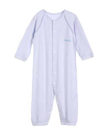 Aimer Baby保暖|爱慕婴儿爱牛奶男婴幼长袖连体爬服AB2750401