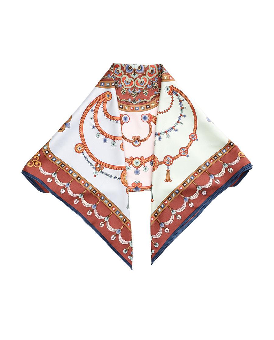 EMPEROR配饰|妙色璎珞方巾HL31055