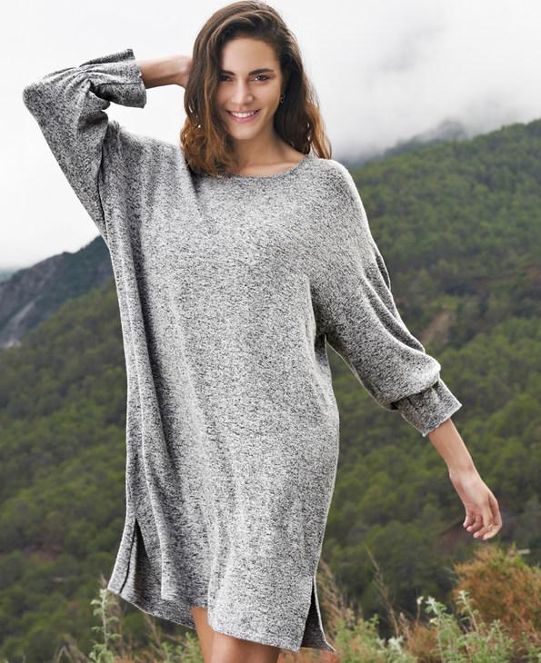 Aimer Home睡衣|爱慕家居随享针织中款连衣裙AH440281