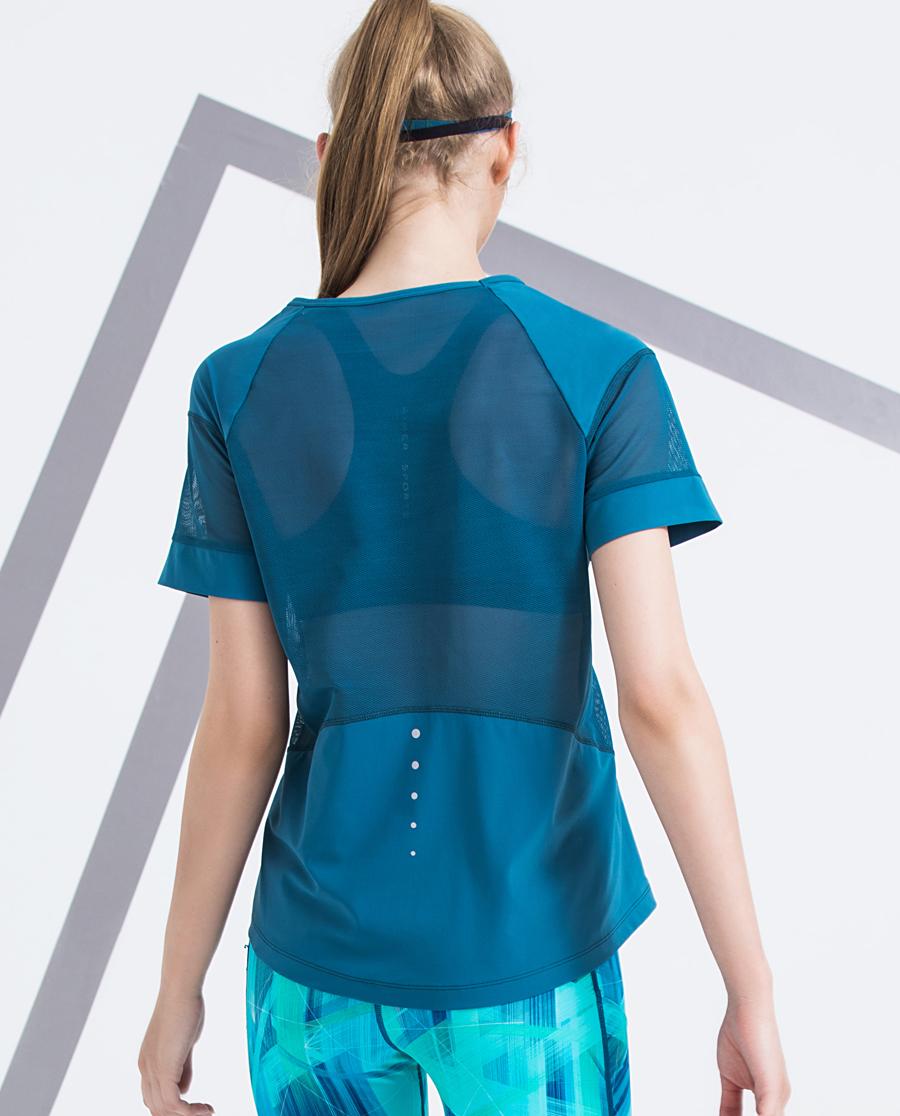 Aimer Sports运动装|爱慕运动盛夏晨跑短袖T恤AS143D71